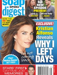 Soap Opera Digest – August 03, 2020