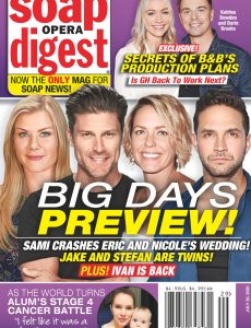 Soap Opera Digest – July 20, 2020