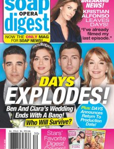 Soap Opera Digest – July 27, 2020
