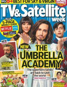 TV & Satellite Week – 25 July 2020