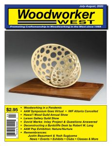 Woodworker East – July-August 2020