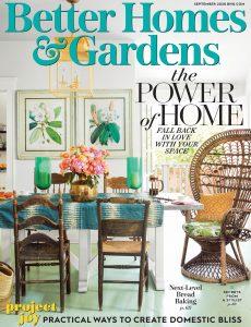 Better Homes & Gardens USA – September 2020