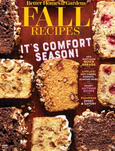 Better homes and Gardens – Fall Recipes 2020