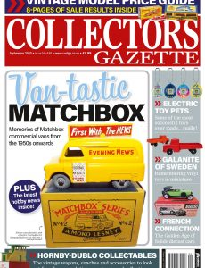 Collectors Gazette – September 2020