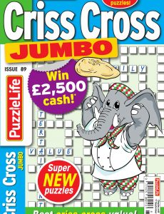 Family Criss Cross Jumbo – Issue 89 – August 2020