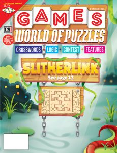 Games World of Puzzles – October 2020