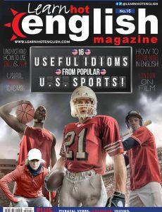 Hot English Magazine 219 No 15 -August 2020