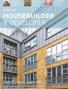 Housebuilder & Developer (HbD) – April-May 2020