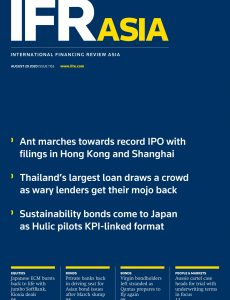 IFR Asia – August 29, 2020