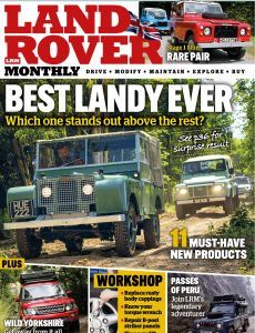 Land Rover Monthly – October 2020
