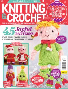 Let's Get Crafting Knitting & Crochet – Issue 124 – August 2020