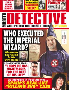Master Detective – August 2020
