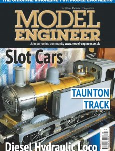 Model Engineer – Issue 4645 – 14 August 2020