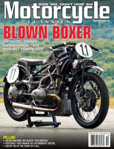 Motorcycle Classics – September-October 2020