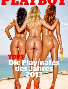 Playboy Germany Special Edition – Top 3 Die Playmates Des Jahres – 2013
