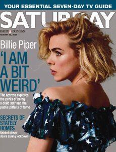 Saturday Magazine – August 22, 2020