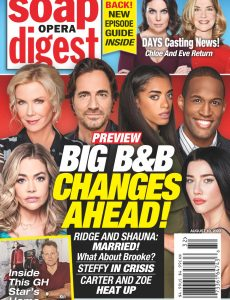 Soap Opera Digest – August 10, 2020