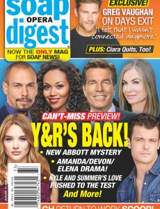 Soap Opera Digest – August 17, 2020