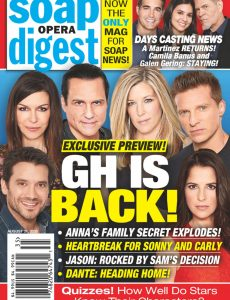 Soap Opera Digest – August 31, 2020