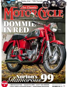 The Classic MotorCycle – September 2020