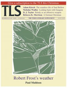 The Times Literary Supplement (TLS) – 24-31 December 2010