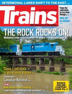 Trains – October 2020