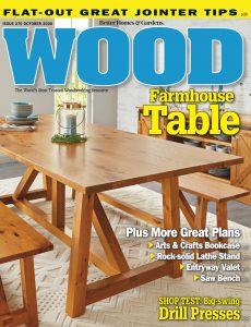 WOOD Magazine – October 2020