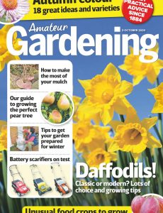 Amateur Gardening – 03 October 2020