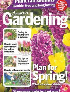 Amateur Gardening – 26 September 2020