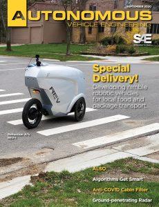 Autonomous Vehicle Engineering – September 2020