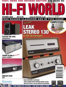 Hi-Fi World – October 2020
