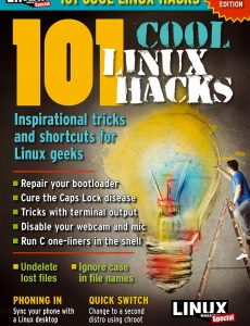 Linux Magazine Special Editions – 101 Cool Linux Hacks 2020