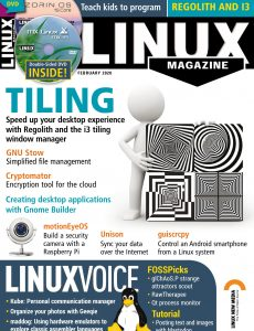 Linux Magazine USA – Issue 231 – February 2020