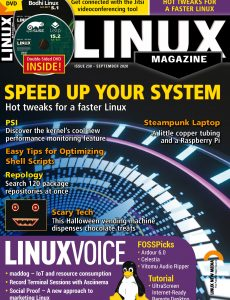Linux Magazine USA – Issue 238 – September 2020