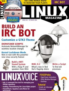 Linux Magazine USA – Issue 239 – October 2020