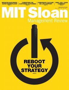 MIT Sloan Management Review – Fall 2020