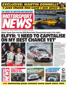 Motorsport News – September 03, 2020