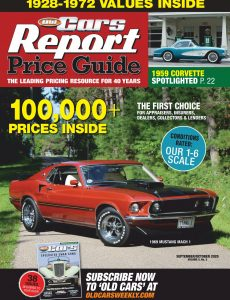 Old Cars Report Price Guide – September-October 2020