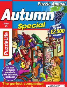 PuzzleLife Puzzle Annual Special – Issue 45 – Autumn Special 2020