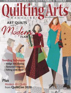 Quilting Arts – October-November 2020