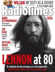 Radio Times – 03 October 2020