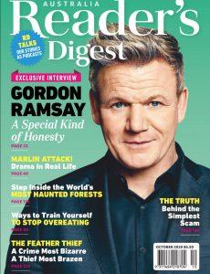 Reader's Digest Australia & New Zealand – October 2020