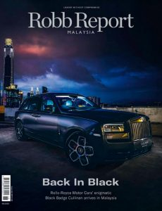 Robb Report Malaysia – August 2020