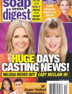Soap Opera Digest – October 05, 2020