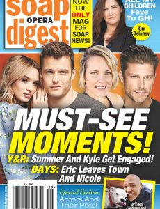 Soap Opera Digest – September 28, 2020