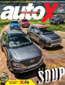 autoX – September 2020