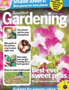Amateur Gardening – 10 October 2020