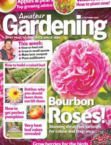 Amateur Gardening – 31 October 2020