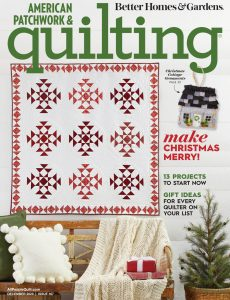 American Patchwork & Quilting – December 2020
