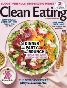 Clean Eating – November-December 2020